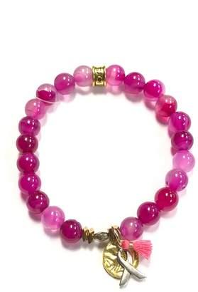 Chavez For Charity Breast-Cancer Ribbon Bracelet