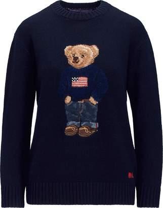Ralph Lauren Polo Bear Cashmere Sweater