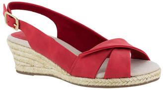 Easy Street Shoes Maureen Espadrille Slingback Sandals Women Shoes