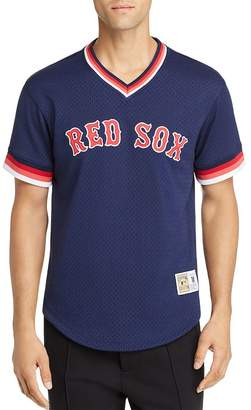 Mitchell & Ness Red Sox Mesh Tee