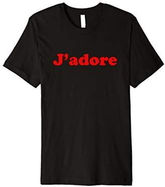 J'adore vintage french t-shirt