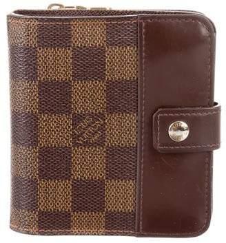 Louis Vuitton Damier Ebene Compact Zippé Wallet