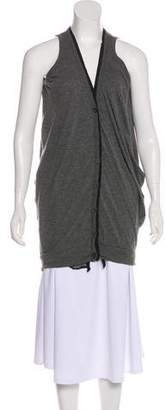 Clu Sleeveless Cardigan