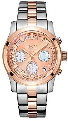JBW Women's 'Alessandra' Quartz 18K -Plated Stainless Steel Watch