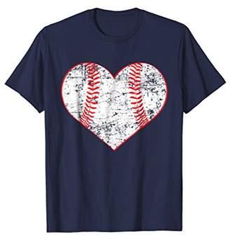 Baseball Heart Shirt