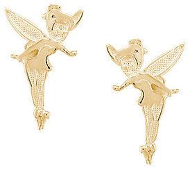 Disney Tinker Bell Stud Earrings, 14K Gold $64 thestylecure.com