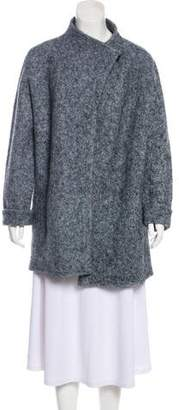 Armani Collezioni Wool & Mohair-Blend Coat w/ Tags