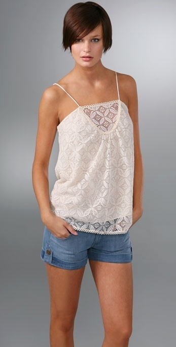 Milly Antique Lace Camisole