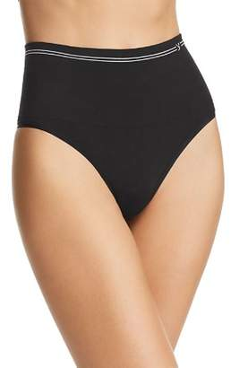 Yummie Seamless Cotton-Stretch High-Waist Thong