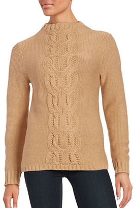 Lord & Taylor Cable Knit Sweater $108 thestylecure.com