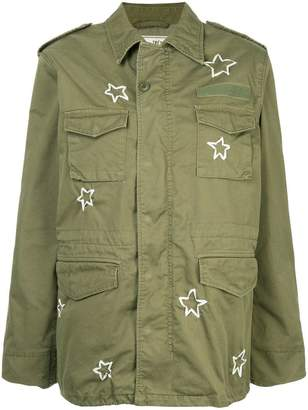 Tu Es Mon Trésor M65 ribbon-embroidered field jacket