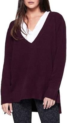 Sanctuary Santuary Delancey V-Neck Sweater (Petite)