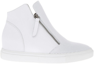 Cane White Leather Sneaker