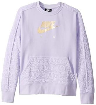 Nike NSW Air Fleece Top (Little Kids/Big Kids)