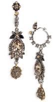Alexander McQueen Women's Charm Drop Earrings