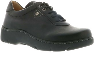 Wolky Lace-Up Leather Oxfords - Fantasy