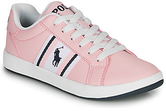 Polo Ralph Lauren OAKLYNN girls's Shoes (Trainers) in Pink