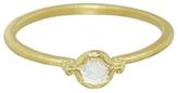 Megan Thorne Lottie Diamond Stacking Ring - Yellow Gold