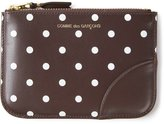 Comme des Garcons 'Polka Dots Printed' purse - unisex - Calf Leather - One Size