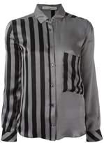 Golden Goose Deluxe Brand striped satin shirt