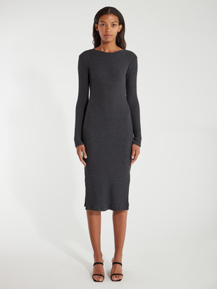 Billie The Label Wilma Rib Knit Midi Dress