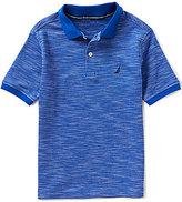 Nautica Big Boys 8-20 Short-Sleeve Ribbed Pique Polo Shirt