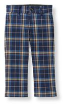 Janie and Jack Plaid Trouser