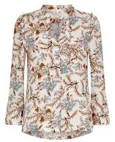 Maje Lixie Flower Print Shirt