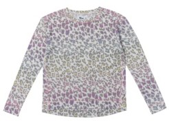 Epic Threads Big Girls Long Sleeve All Over Print High-Low Snit Top