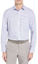 Nordstrom Men's Big & Tall Smartcare(TM) Spread Check Sport Shirt