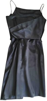 Jil Sander Black Silk Dresses