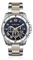 Michael Kors Men's Brecken Two-Tone Chronograph Watch