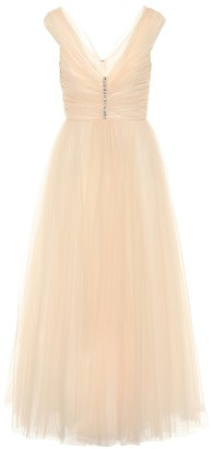Giambattista Valli Embellished silk-tulle gown