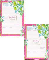 Lilly Pulitzer Pink Lemonade Set Of 2 List Pads