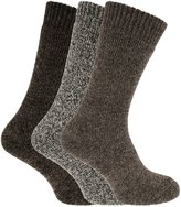 Universal Textiles Mens Maximum Heat Wool Blend Winter Thermal Socks (3 Pairs)
