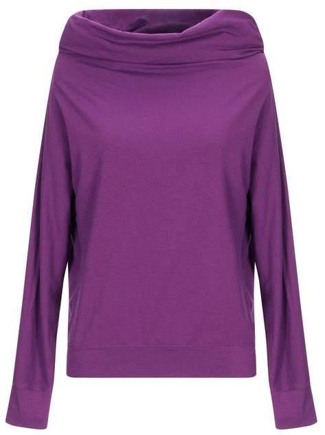 7bdb52475aa2 Purple Long Sleeve T Shirt Top - ShopStyle UK