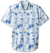 Margaritaville Men's Tonal Palm Trees Bbq Shirt