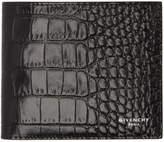 Givenchy Black Croc Wallet