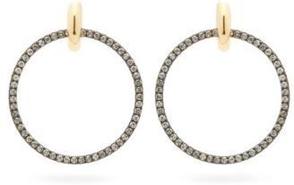Spinelli Kilcollin Casseus Noir Diamond & Rhodium-plated Earrings - Black