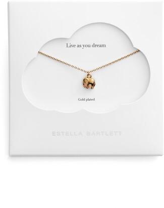 Estella Bartlett Live as You Dream Elephant Necklace