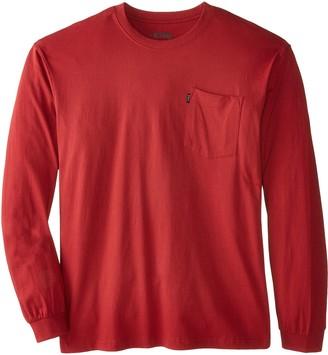 Key Apparel Key Industries Men's Big and Tall Big & Tall Heavyweight Long Sleeve Pocket T-Shirt