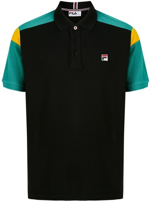 Fila Colour Block Sleeves Polo Shirt