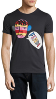 Fendi Graphic Print Crewneck T-Shirt