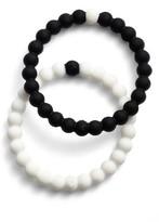 Women's Lokai Choose Your Cause Set Of 2 Black & White Bracelets