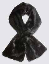Marks and Spencer Faux Fur Scarf with Modal
