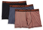 Jockey Three-Pack Active Microfiber Stretch Boxer Briefs