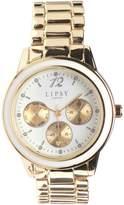 Lipsy Womens Chrono Detail Bracelet Watch Gold