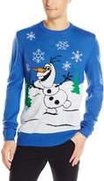 Disney Men's Olafs Holiday Sweater