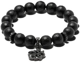 Loree Rodkin 14kt gold diamond bead bracelet