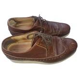 Comme des Garcons Brown Leather Lace ups